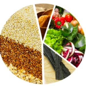 Una alimentación natural, integral y balanceada calma la mente y renueva nuestro organismo.